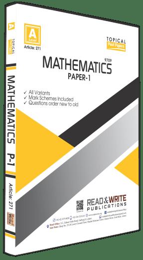 Mathematics O level Paper 1
