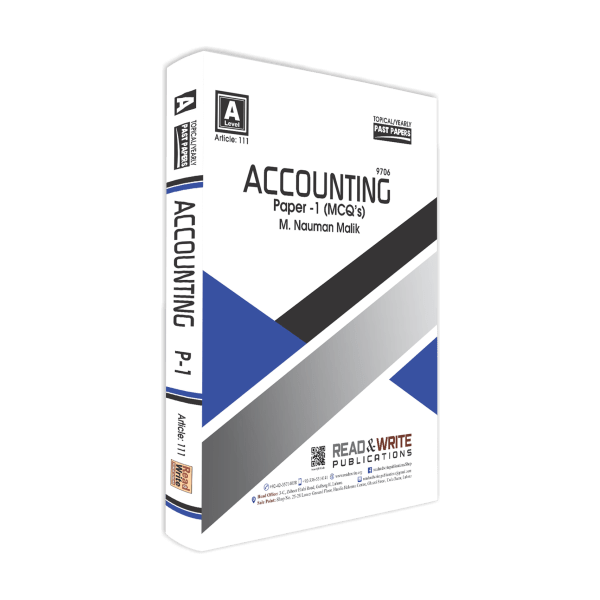 Accounting AS-Level MCQ's Paper-1 Topical/Yearly