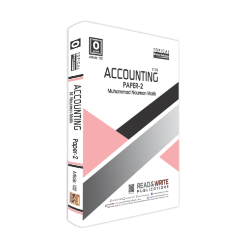 Accounting O-Level P-2 Past papers