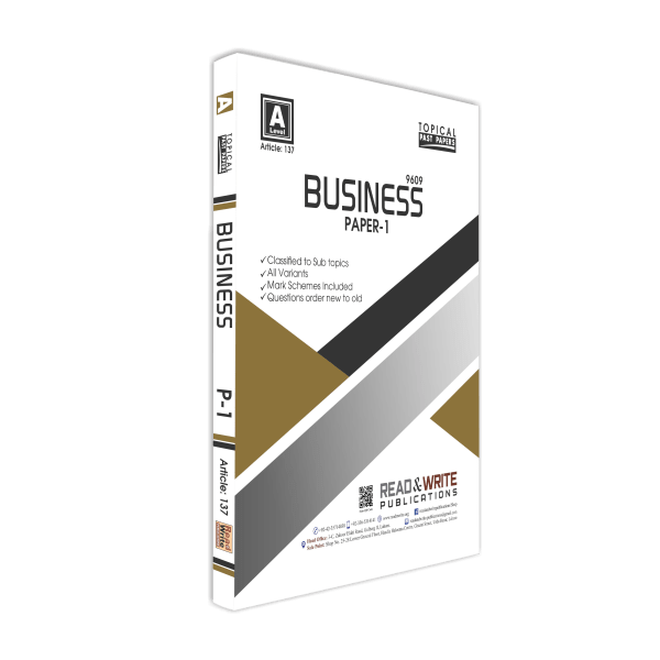 Business A Level Paper-1 Topical Past Papers