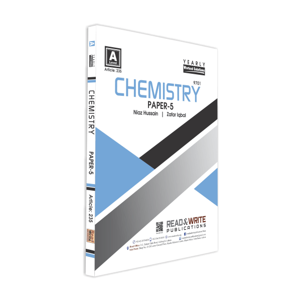 235 Chemistry A Level Book Paper 5 Yearly worked solutions