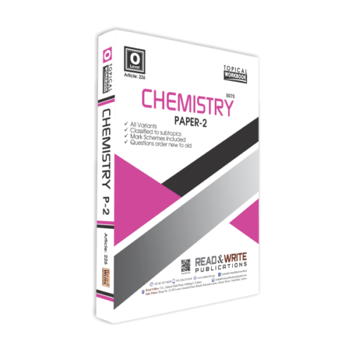 226 Chemistry O Level Paper 2 Topical Workbook