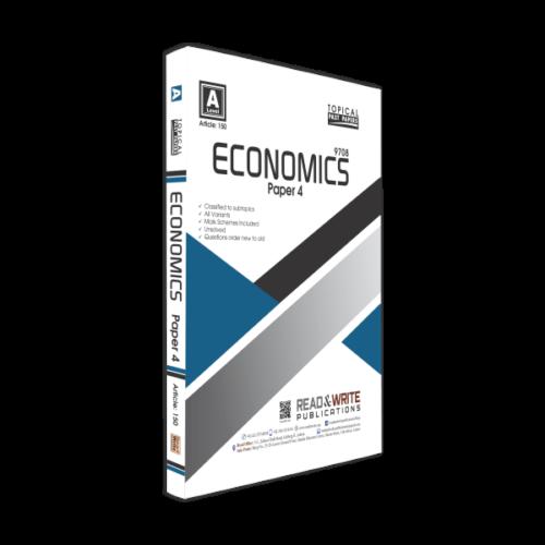 Economics A2-Level P-4 Classified-Topical