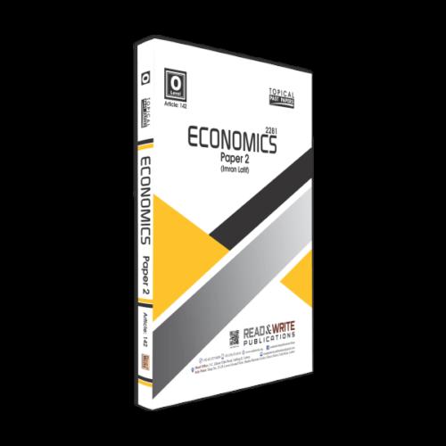 Economics O Level P-2 Topical