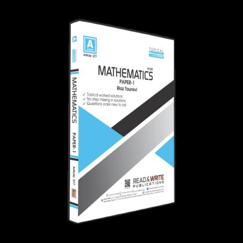 Mathematics A Level Paper