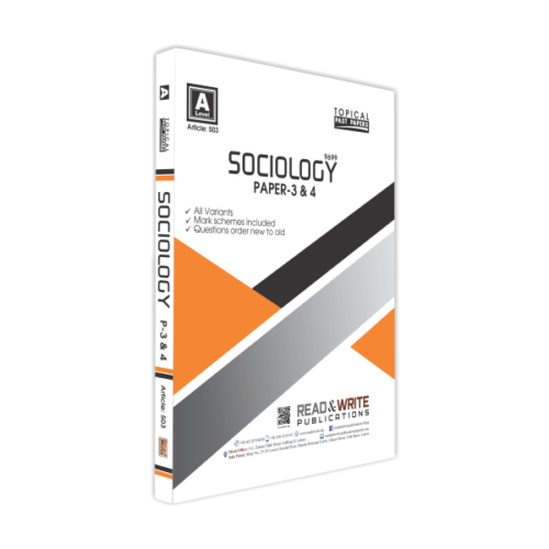 Sociology A Level Paper
