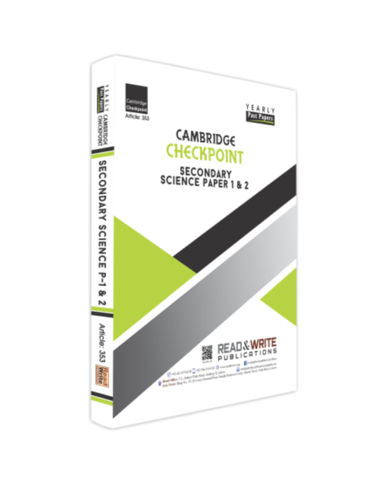 Checkpoint Secondary Science Book