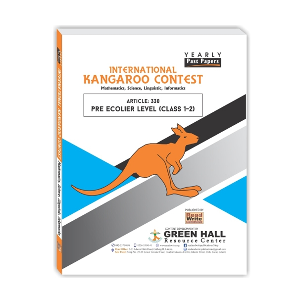International Kangaroo Contest Pre Ecolier Level (Class 1-2)