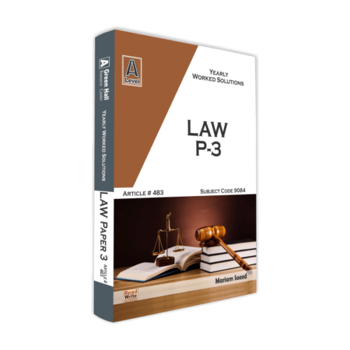 Law A Level Paper 3
