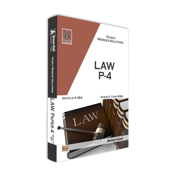 Law A Level Paper 4