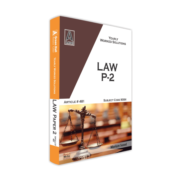 Law As Level Paper 2