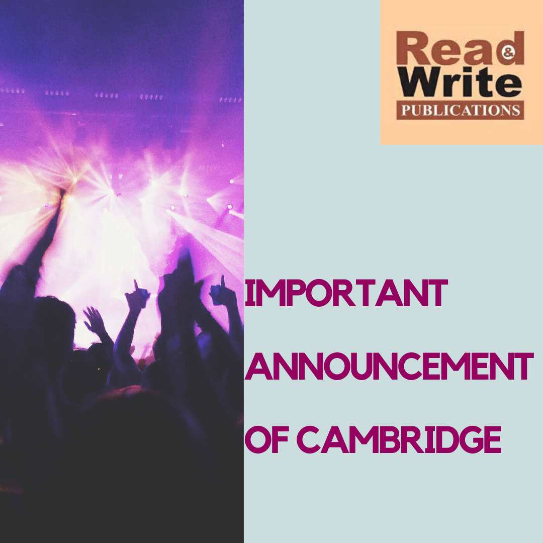 COVID -19 Update By Cambridge and Importance of IGCSE Books